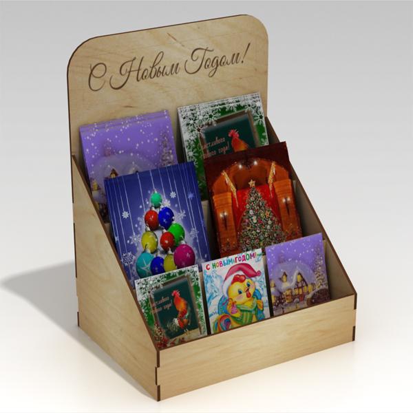 Подставка для открыток своими руками